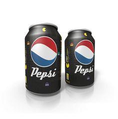 Latas de Pepsi diseñadas