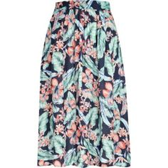 From tube skirts to maxi skirts detailed with ruffles and frills and mini skirts re-worked in high shine vinyl, update your spring outfits with our skirts. Tube Skirt, Navy Skirt, Printed Skirts, River Island, Island Blue, Passion For Fashion, Spring Outfits, Tropical, My Style