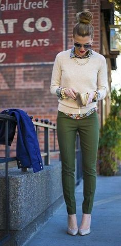 Layered sweater- Transition Your wardrobe for Spring!