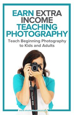 Want to teach photography?  This free guide will help you get started. http://shutterteachers.myshopify.com/blogs/blog/35224965-a-quick-and-easy-guide-on-how-to-teach-photography-for-fun-and-profit