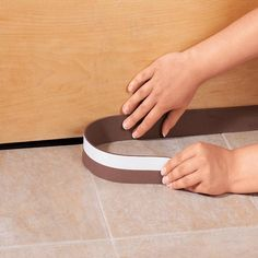 It is cold outside and keeping the heat in your house is important to staying warm and saving money on energy costs.  The Door Sweep is a waterproof way to help prevent heat loss during these winter months.