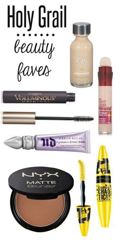 Holy Grail Beauty Products, Holy Grail, Must Have Beauty Products, Makeup, Must Haves, Drugstore Beauty Products, Drug Store Must Haves