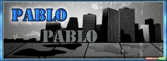Pablo - Portadas con nombres para Facebook