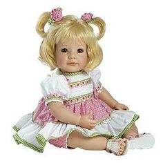 Adora Polka Dot Rose Baby Doll $99.99