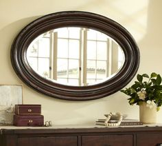 Pottery Barn This Is The Mirror Size And Shape That I Want For My Bathroom