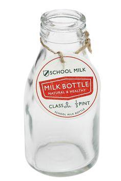 Traditionell Gammaldags Mjölkflaska | Traditional School Milk Bottle | Kök och Skafferi | Matilde & Co | Handla online