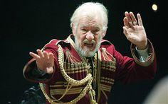 Sir Ian McKellen as King Lear, Courtyard Theatre, Stratford upon Avon, 2007