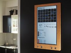Picture of Raspberry Pi: Wall Mounted Calendar and Notification Center
