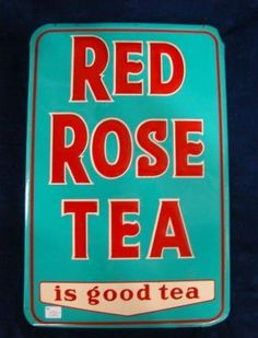 1950's one sided embossed tin sign, manufactured in Canada. Love the colours