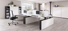 kantoor ruimte met witte accenten
