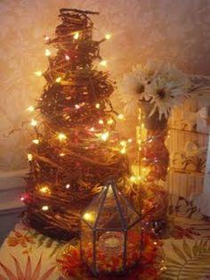 Primitive Tobacco Stick Grapevine Tree | Salt Lick Shop |Redneck Grapevine Trees