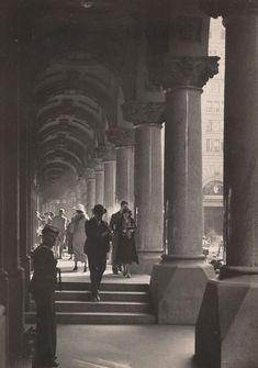 Mail time, GPO, Sydney, Australia, 1932, by Harold Cazneaux.