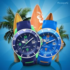 ICESPORTY by Ice-watch sporty for men. Summer 2015 @ Strego Juwelier