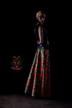 ((Nuevo ciclo))) ropa para ser feliz! Faldas, Camisitas y bandanas para chicas  en Africanwax