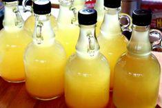 Kombucha, Hot Sauce Bottles, Body Care, Food To Make, Food And Drink, Herbs, Homemade, Drinks, Health