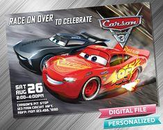 Cars 3 Invitation Cars Invitation Cars Invite Cars Birthday Invitation