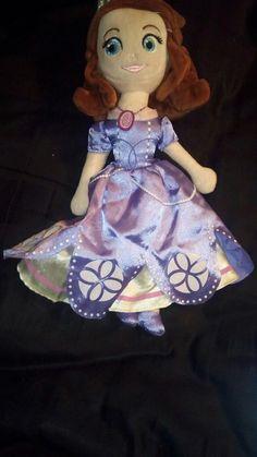 "SOPHIA THE FIRST 14"" Plush Doll from Disney | Toys & Hobbies, TV, Movie & Character Toys, Disney | eBay!"