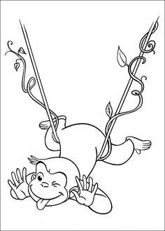 Affe Ausmalbild Ausmalbilder Für Kinder Malvorlagen Für Kinder