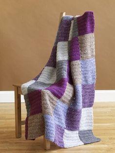 Bold Blocks Afghan Pattern (Crochet)