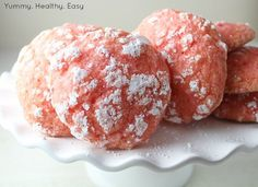 Strawberry Cool Whip Cookies - Yummy Healthy Easy