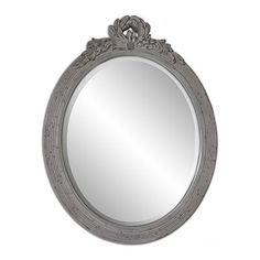 "Kohl's Enchante Accessories Gray Wall Mirror - 22"" x 28"""