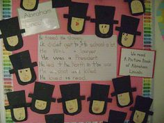 kindergarten abraham lincoln printable book | Abraham Lincoln from the TLC Lessons Winter Book. There are also ...