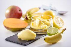 Bananen-Mango-Eis