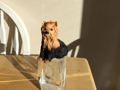 My Yorkshire Terrier figurine posted by Karen Miniaci.
