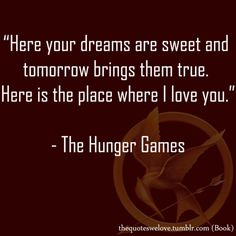 The song Katniss sings to Rue