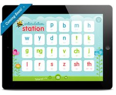 Articulation Station - - Re-pinned by @PediaStaff – Please Visit http://ht.ly/63sNt for all our pediatric therapy pins