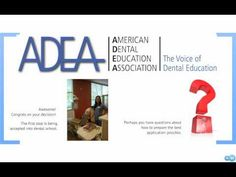 What do I need to be a competitive applicant to dental school? Watch and learn