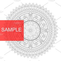 Mandala 1 by PramodGeorge on @creativemarket