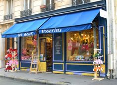 Paris has beautiful toy stores - perfect for gifts!