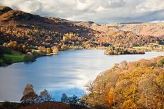Lake District in autumn.