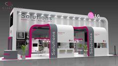 D Exhibition Design Tutorial : Best adi displays images fabric display portable display d