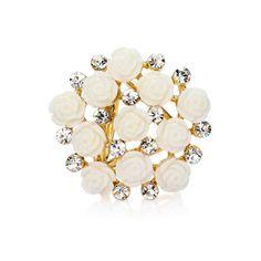 Kytica kvetov je prstencová ozdoba na hodvábne šály a šatky. Ozdobu tvoria kryštály spojené s množstvom kvetov ruží. Ozdoba obsahuje zadné prstence, slúžiace na prevlečenie hodvábnej šatky alebo šálu. Prstenec je druh spony na šatky, ktorý obsahuje trojitý krúžok na prevliakanie šatiek a šálov. Skúste byť originálna a ozdobne si svoju hodvábnu šatku alebo hodvábny šál. Ozdoba je ideálny doplnok používaný pre držanie šatky alebo šálu na krku. Stud Earrings, Jewelry, Fashion, Moda, Jewlery, Bijoux, Fashion Styles, Studs, Schmuck