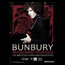 «Bunbury: la misma esencia a pesar de las mutaciones», artículo sobre el concierto de Enrique Bunbury y Los Santos Inocentes en Bogotá, en abril de 2016, por Juan D. Almeyda Sarmiento.