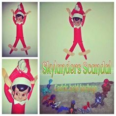 What the E.L.F.? Skylanders Scandal! Cedric held hostage in the chamber! Happy ELFMAS!
