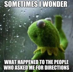 Hahaha I'm so bad with directions! I don't even give them out! I point them in the direction of someone who knows what they're talking about lol
