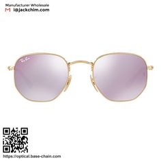27897b80cd Wholesale RayBan Sunglasses men and women paragraph round personality avant  – garde color film reflective mirror