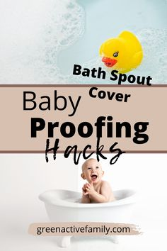 Newborn baby hacks for the baby bathroom that are essential to the safety of your baby. Learn these baby ideas for new moms and learn about the best baby proofing bath item. Find the best and most essential bath spout cover, learn more about this clever baby ideas here. New moms baby hacks and tips to keep baby safe. Baby safety in the bathroom. Baby Room ideas for baby proofing. Baby Room Design | Baby Hacks | Baby Newborn Hacks | Baby Safety | Child Proofing Baby Safety, Child Safety, Baby Life Hacks, Baby Registry Checklist, Baby Bathroom, Baby Room Design, Baby Cover, Best Bath, Baby Newborn