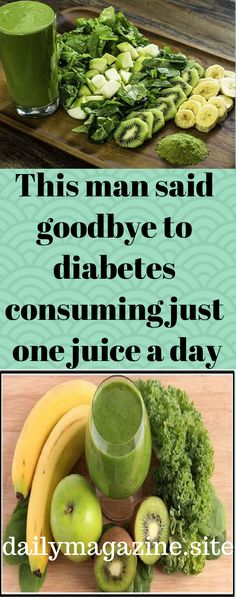 This article is going to present you a story of a man who has been diagnosed with high blood pressure and diabetes, so he had to take numerous medicines and oils to treat his problems on a daily basis. But, he managed to say goodbye to diabetes in a very Diabetes Remedies, Cure Diabetes, Health Remedies, Diabetes Food, Juice For Diabetes, Alcohol And Diabetes, Diabetic Smoothies, Diabetic Recipes, Juicing Recipes For Diabetes