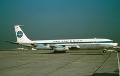 """Pan American [World Airways (Pan Am)], Boeing """"Clipper Emerald Isle,"""" served Pan Am Boeing 707, Boeing Aircraft, True Vision, National Airlines, Pan Am, Come Fly With Me, Aircraft Photos, Commercial Aircraft, Civil Aviation"""