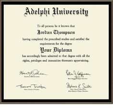 A degree certificate template is usually issued by educational institute to their students for appreciation when they successfully completed their study or course. Graduation Certificate Template, Certificate Format, Degree Certificate, Certificate Templates, Templates Printable Free, College Diploma, University Diploma, Divorce Papers