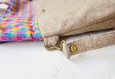 Jute Handloom Foldover Tote Bag Jute Fabric, Crossbody Bag, Tote Bag, Everyday Bag, Custom Bags, Sewing Projects For Beginners, Travel Gifts, Casual Bags, Handmade Bags