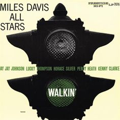 """Miles Davis Walkin' On Vinyl LP Walkin' contains two of the classic Miles Davis sessions of 1954 which made all the critics who hailed his appearance at the 1955 Newport Jazz Festival a """"comeback"""" see"""