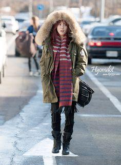Hyomin from T-ARA