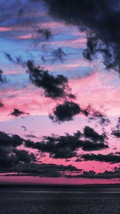 Dark clouds in the sky - # Dark clouds in the sky - # .-Dunkle Wolken am Himmel – # Dunkle Wolken am Himmel – Dark clouds in the sky – # - Tumblr Wallpaper, Wallpaper Pastel, Dark Wallpaper Iphone, Night Sky Wallpaper, Cloud Wallpaper, Sunset Wallpaper, Iphone Background Wallpaper, Aesthetic Pastel Wallpaper, Galaxy Wallpaper