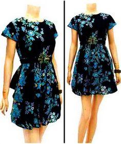 dress batik db038