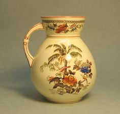 1879 Wedgwood Aesthetic Transferware Pitcher